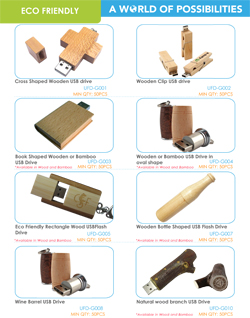 Eco Friendly USB Catalog