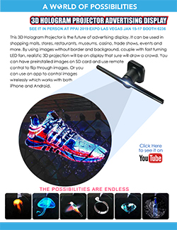Hologram Projector Flyer